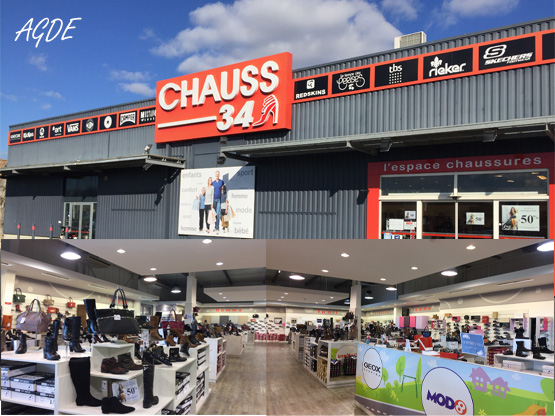Magasin chaussures Agde