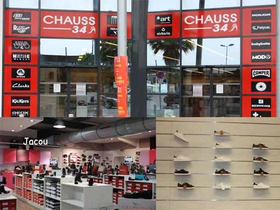 Magasin chaussures Jacou